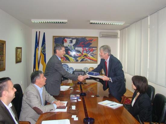 Održan sastanak sa gospodinom Andrasom Horvaijem, vršiocem dužnosti šefa ureda Svjetske banke za BiH i Crnu Goru