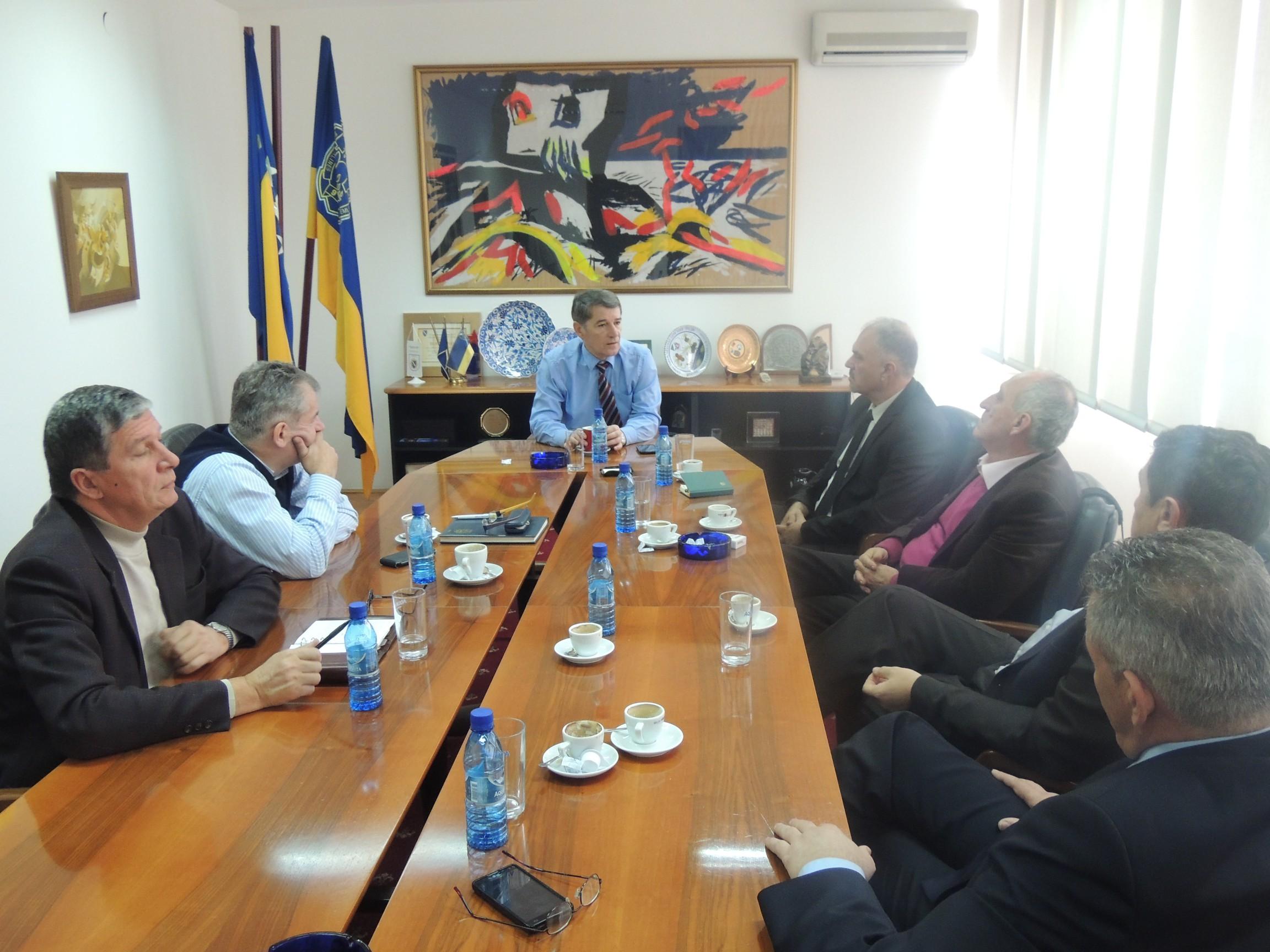 Sastanak sa menadžmentom Rudnika soli Tuzla