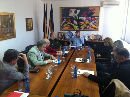 Gradonačelnik Imamović uputio stručnu pomoć, povodom nesreće koja se sinoć dogodila u naselju Bare, u blizini Kaknja