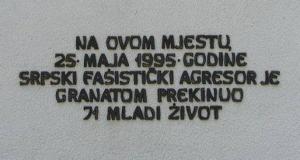K A P I J A 25. V 1995.  – 25. V 2015.