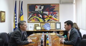 Gradonačelnik održao sastanak sa političkim savjetnikom Ambasade SAD u BiH