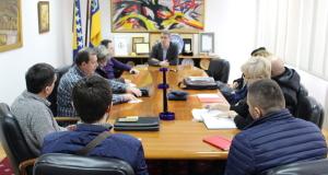 Održan radni sastanak sa predstavnicima preduzeća koja su upravitelji zgrada na području grada