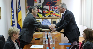 Održan sastanak sa predstavnicima Ambasade SAD u BiH