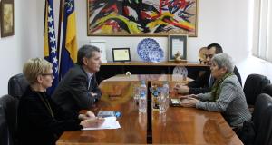 Gradonačelnik se susreo sa ambasadoricom Republike Bugarske u Bosni i Hercegovini