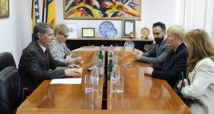Susret gradonačelnika Tuzle i ambasadorice SR Njemačke u BiH