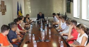 Prijem kod gradonačelnika Imamovića u povodu Međunarodnog dana mladih