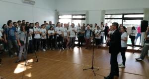 (video+foto) Gradonačelnik Tuzle uputio poruku mira na Svjetski dan mira
