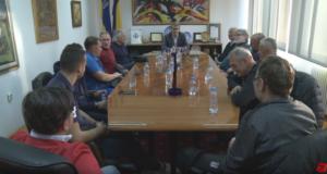 "(VIDEO) Veterani NK ""GOŠK JUG"" Dubrovnik u posjeti Tuzli"