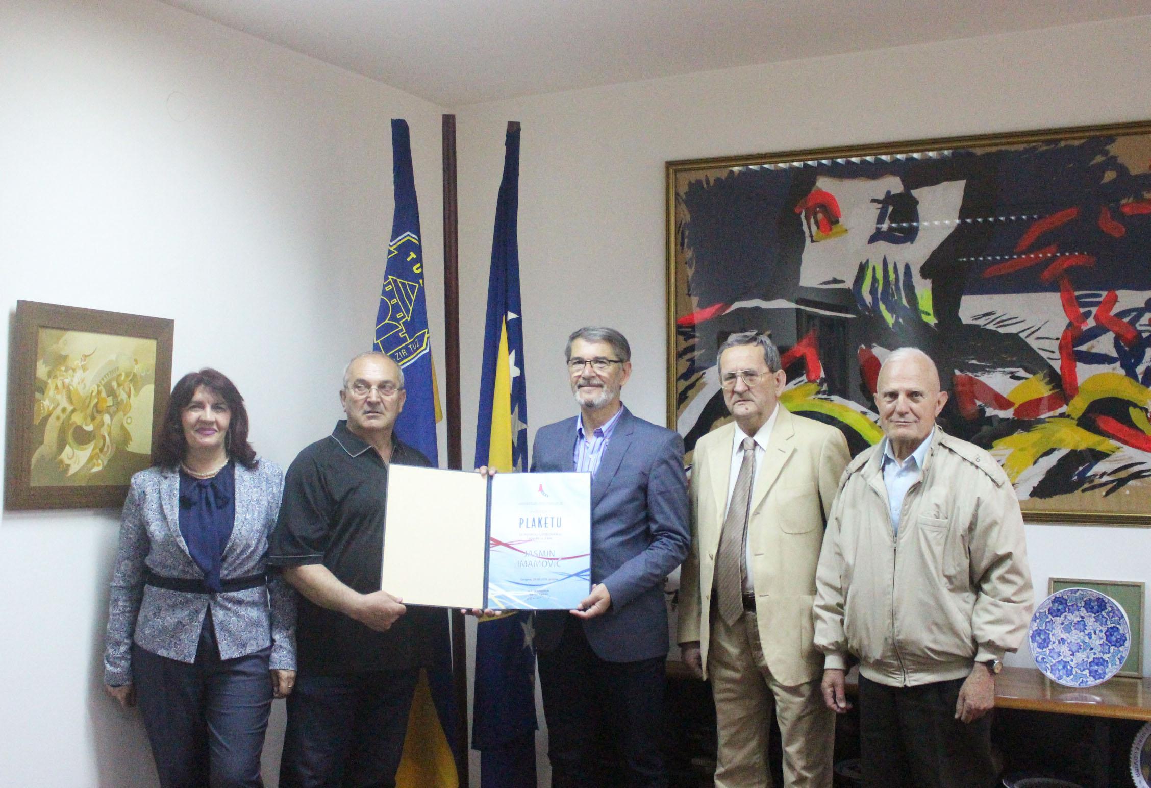 Gradonačelnik Tuzle, Jasmin Imamović, upriličio prijem za članove Srpskog građanskog vijeća – Pokret za ravnopravnost BiH