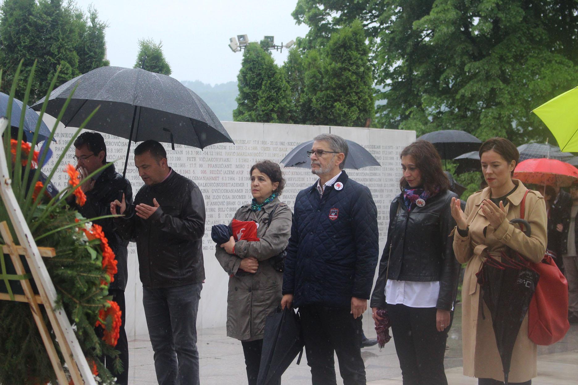 Obilježen 9. maj/svibanj- Dan pobjede nad fašizmom, Dan Evrope, Dan Zlatnih ljiljana
