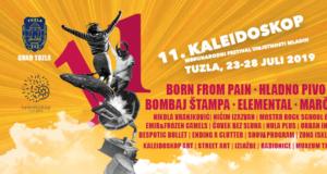 Program 11. Kaleidoskop festivala –  Tuzla, 23. – 28. 7. 2019.