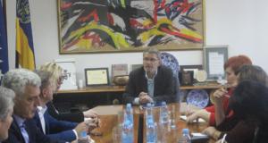Gradonačelink Tuzle upriličio prijem za Delegaciju zastupnika Parlamentarne skupštine BiH, okupljene oko Kluba za evropske integracije i sigurnosna pitanja PSBiH