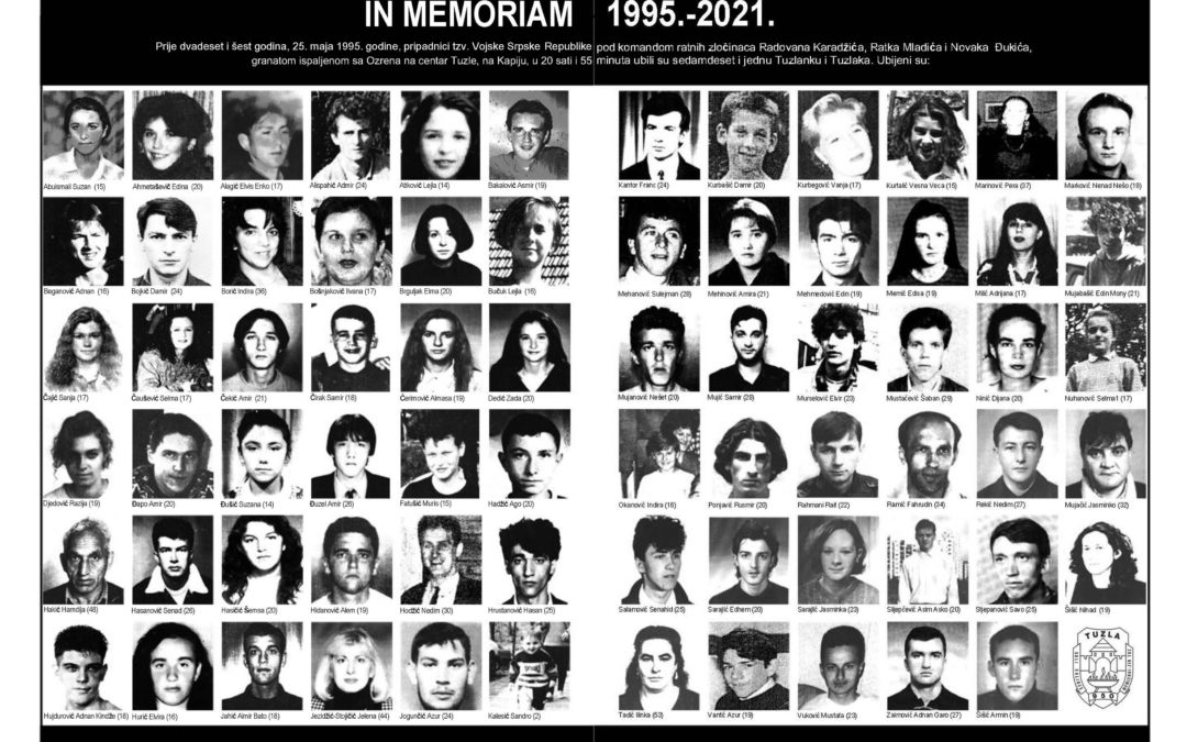 IN MEMORIAM: KAPIJA 1995. – 2021.