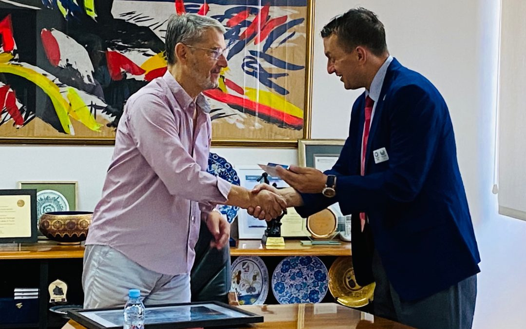 Po povratku sa Olimpijskih igara Ademir Zurapović posjetio gradonačelnika Tuzle